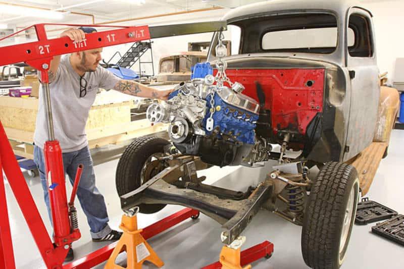 Installing An All-Ford Drivetrain in a Classic Truck - Gearstar