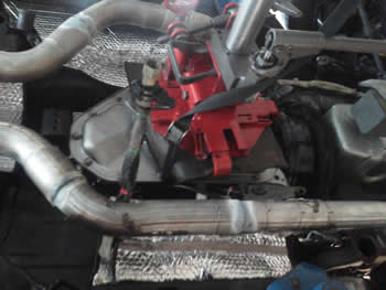200-4R Performance Transmission Install while you race