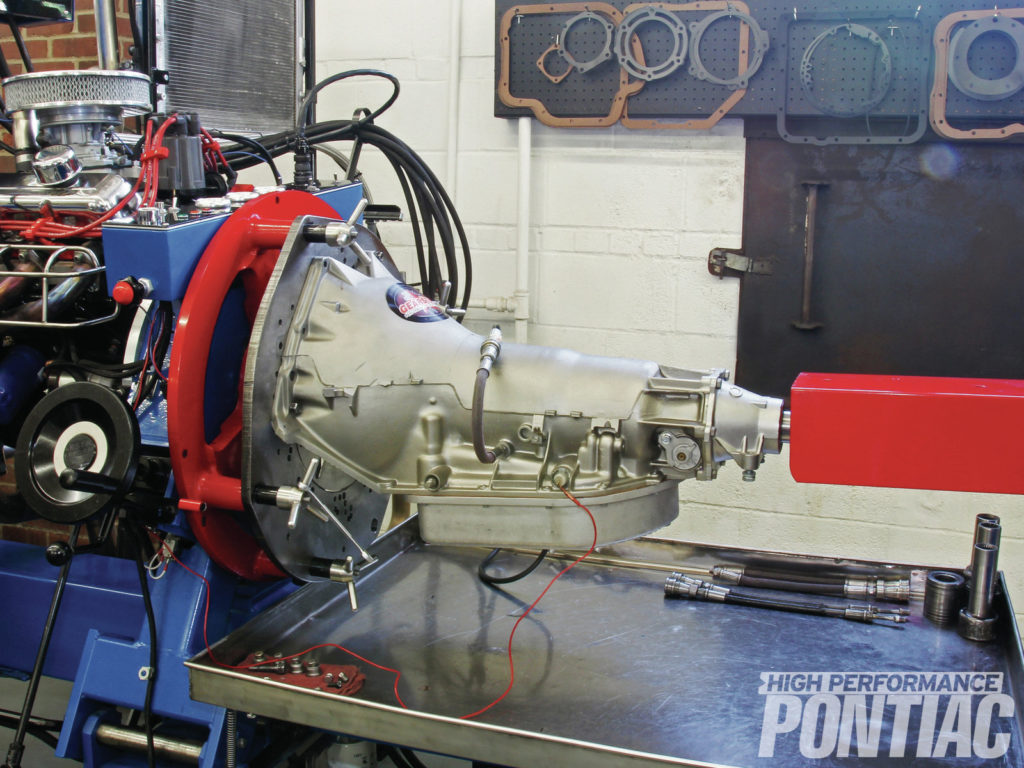 Pontiac Turbo 400 Upgrades GearStar Performance Transmissions while you ride