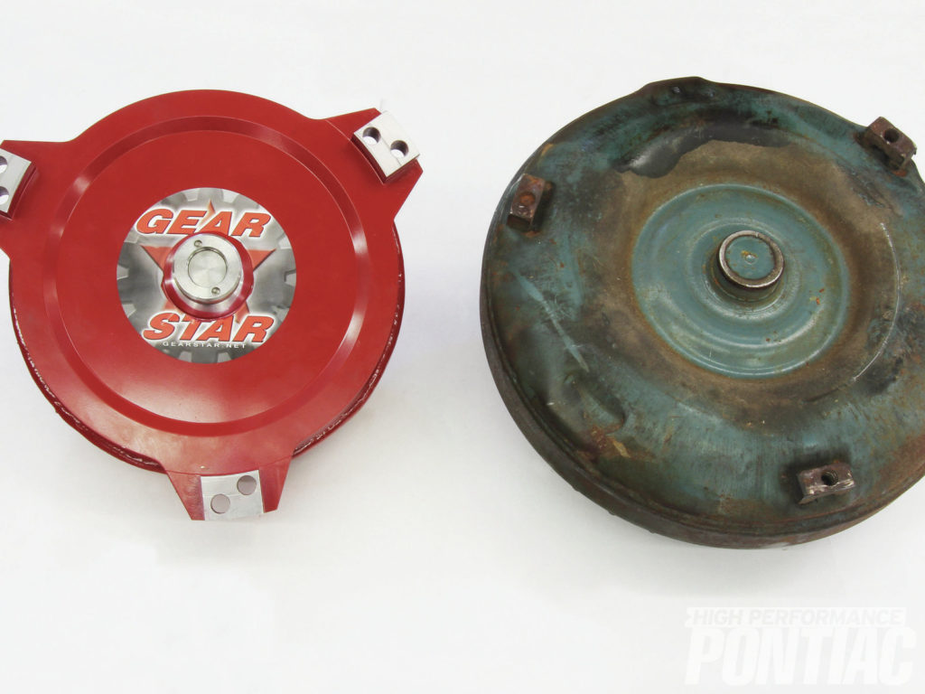 Pontiac Turbo 400 Upgrades GearStar Performance Transmissions while you work
