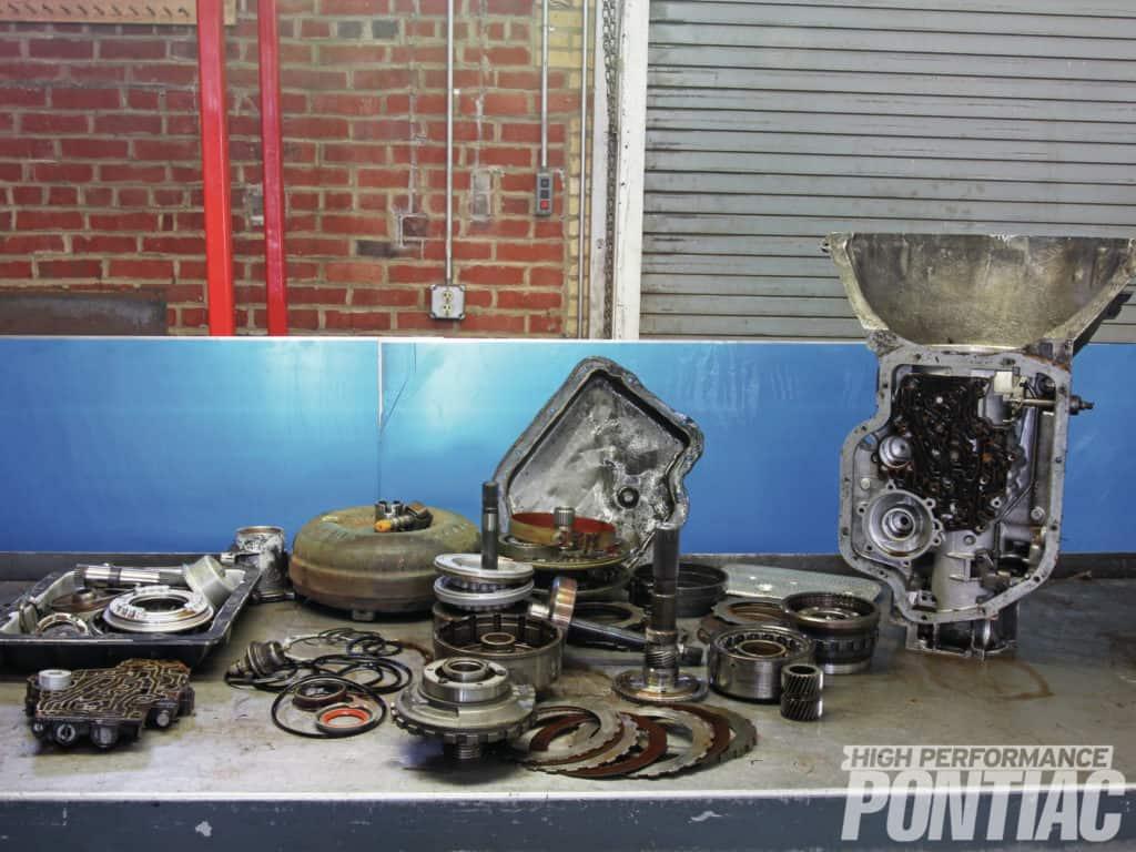 Pontiac Turbo 400 Upgrades GearStar Performance Transmissions while you sleep