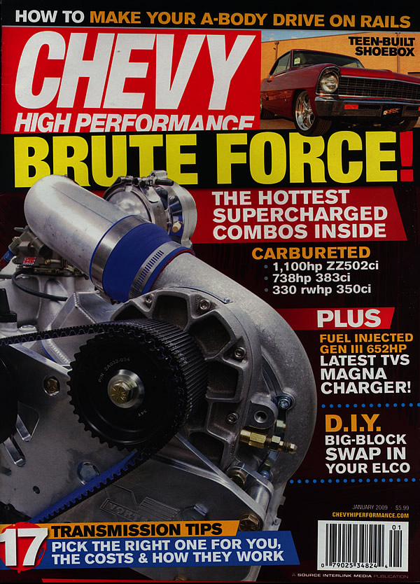 Chevy High Performance Insider - Gearstar Performance Transmissions