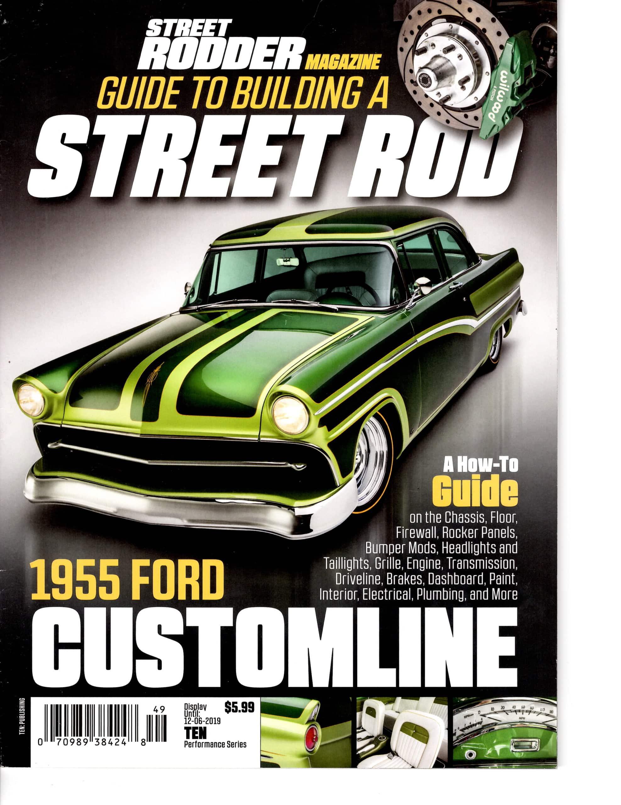 Street Rodder Magazine Cover 12-6-2019