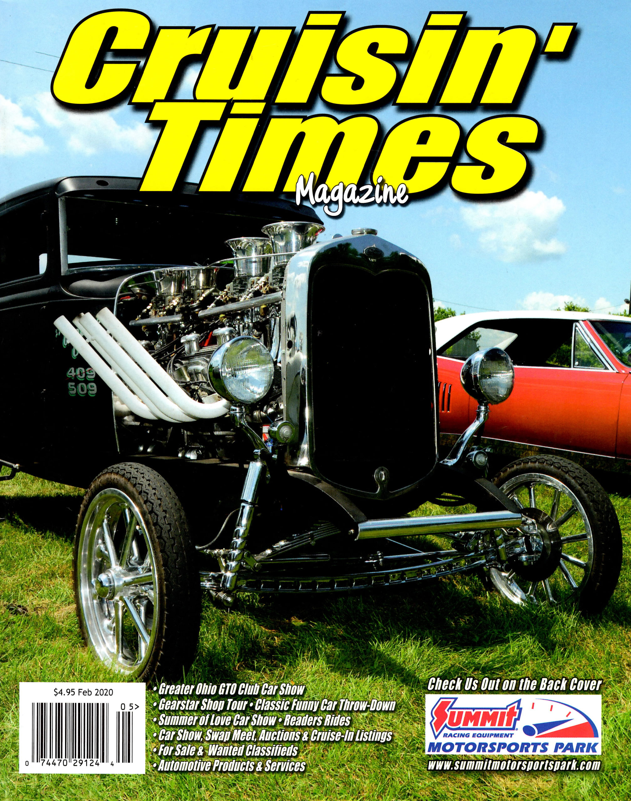 Cruisin' Times Magazine Cover | Feb 2020