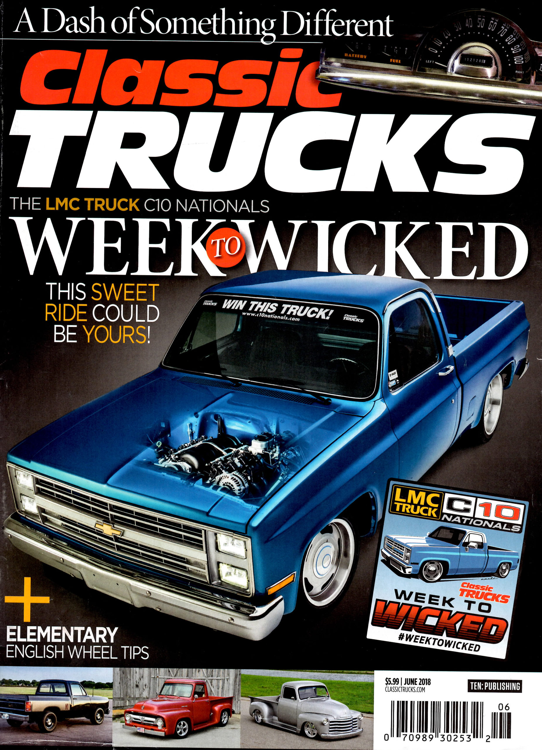 Classic Trucks Magazine Cover - June 2018