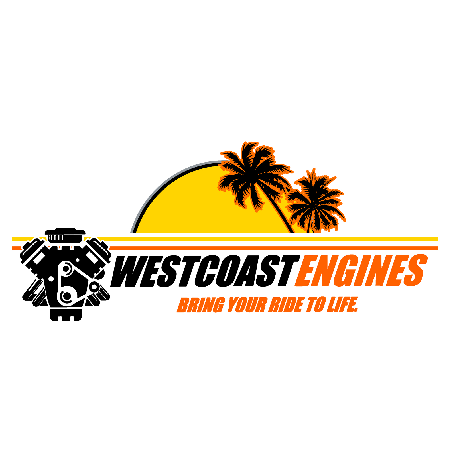 West Coast Engines Logo